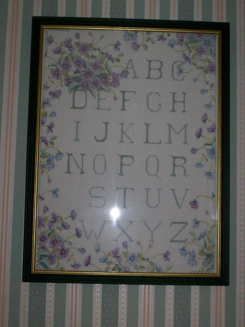 Thème de l'ouvrage du mois de juin : violet, violette et cie.... Noel_a13