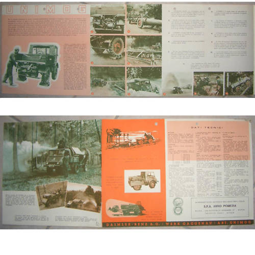 Documents publicitaires Unimog23