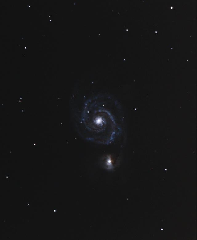 Astro plombier débutant  M51 compo M51-de10