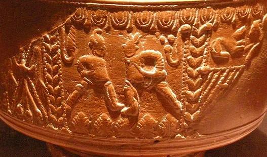 Médaillons avec gladiateurs Roman_10