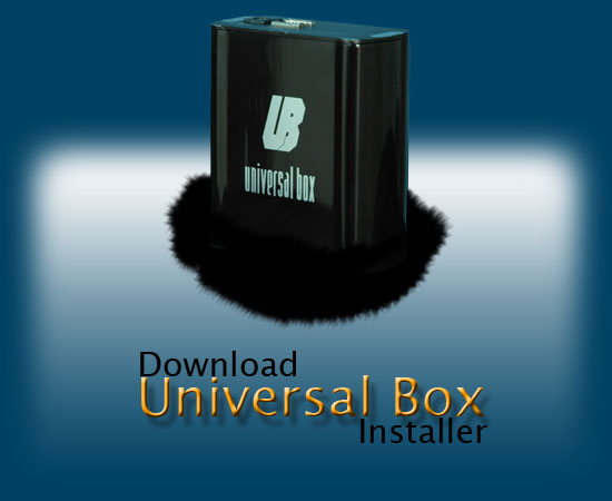 UniversalBox Complete Installer 2.9.0  Univer10