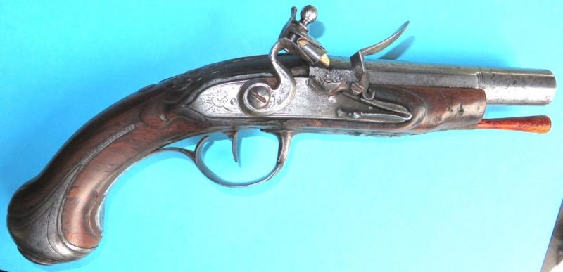 Pistolet silex Pistru12