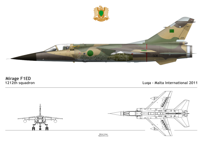 Italeri 1/48 Mirage F1 Ed-50810