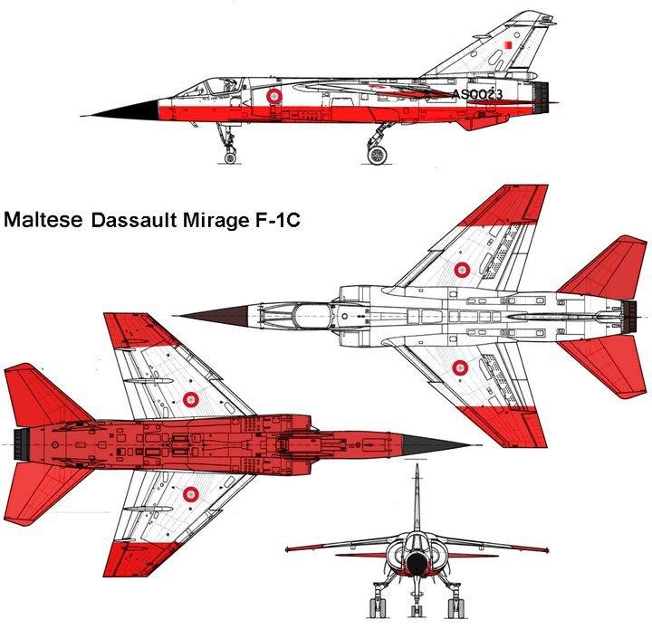 Italeri 1/48 Mirage F1 Maltes10
