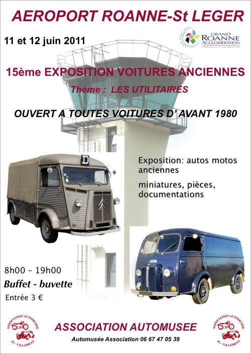 15e Expo voitures anciennes à St Léger S/Roanne le 11 & 12 Juin 2011 Artima10
