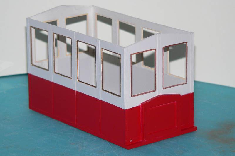 Feldbahntriebwagen in 1:22,5 - fast komplett aus Karton - Baubericht Protot10