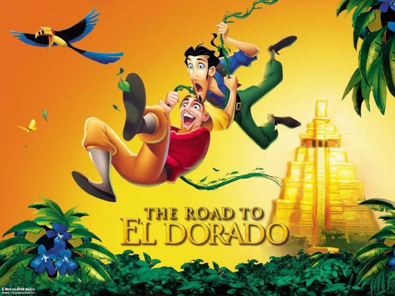 Fonds d'écran La route de l'Eldorado 1023