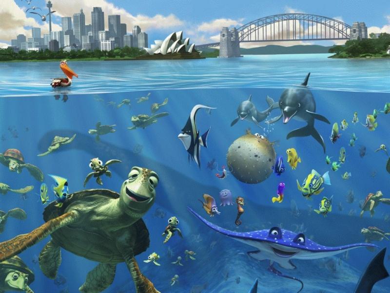 Fonds d'écran Le monde de Nemo 1425