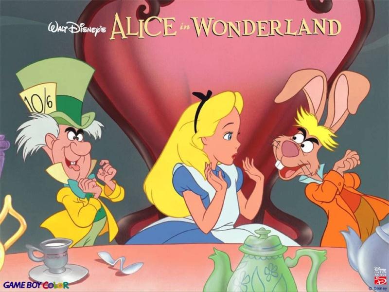 Fonds d'écrans Alice au pays des merveilles 1627