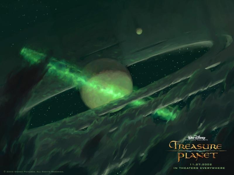 Fonds d'écran La planète au trésor 2515