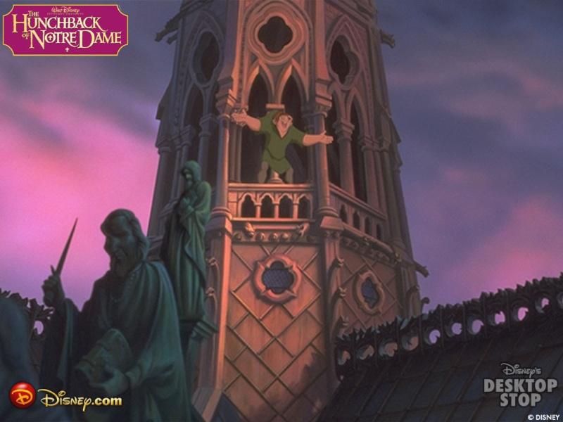Fonds d'écran Le bossu de Notre-Dame 2517