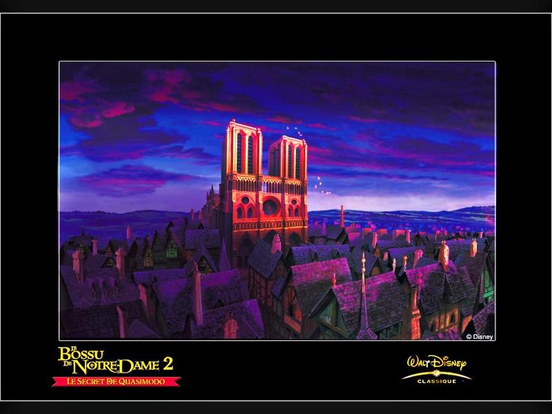Fonds d'écran Le bossu de Notre-Dame 2617