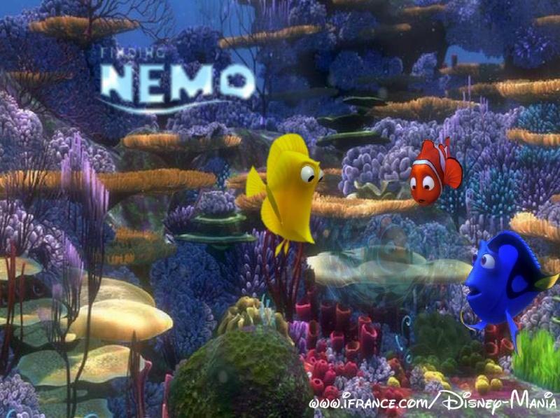 Fonds d'écran Le monde de Nemo 3216