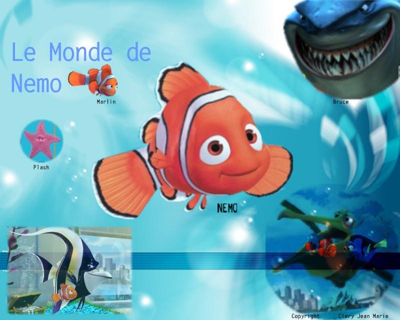 Fonds d'écran Le monde de Nemo 3414