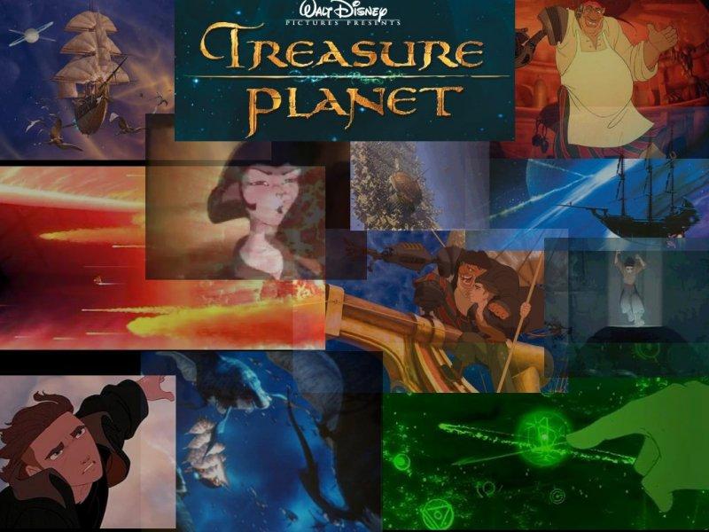 Fonds d'écran La planète au trésor 4513