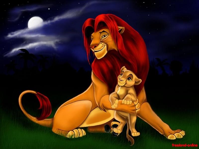 Fonds d'écran Le roi lion - Page 2 5112
