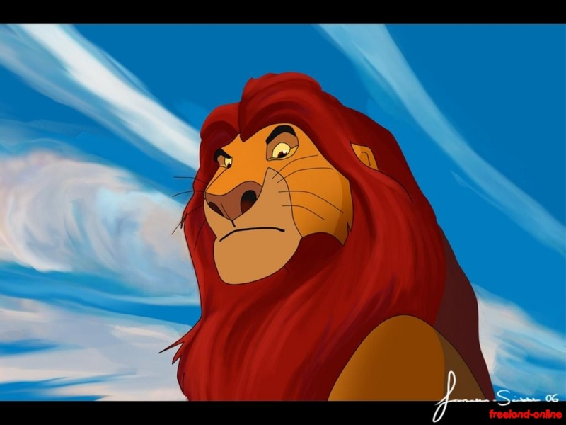 Fonds d'écran Le roi lion - Page 2 6011