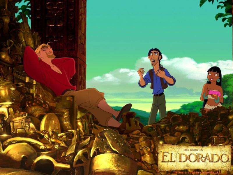 Fonds d'écran La route de l'Eldorado 823