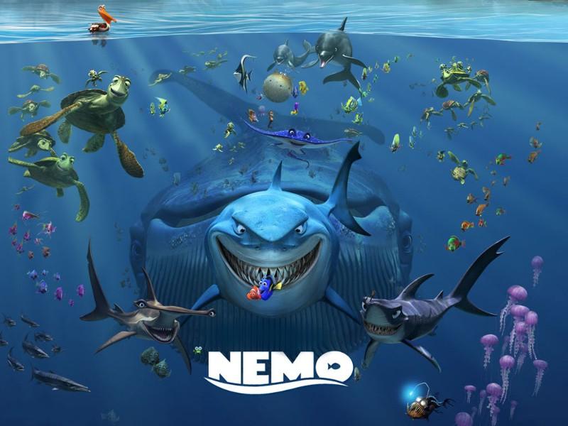 Fonds d'écran Le monde de Nemo 827