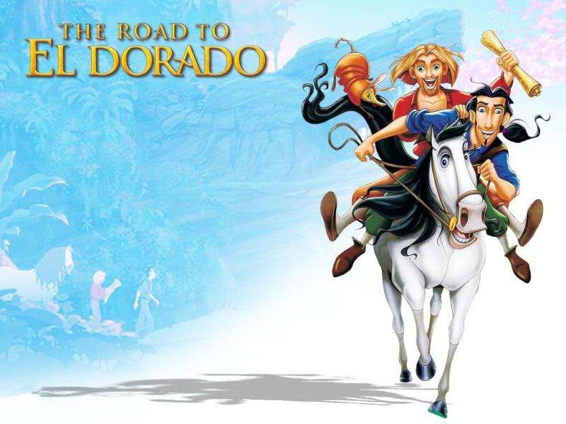 Fonds d'écran La route de l'Eldorado 923