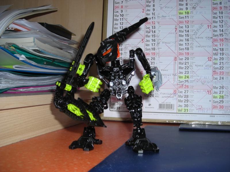 [Moc] Défis: construit le skrall de Bionicle mini echoe. Dscn3510