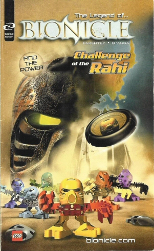 [comics] Bionicle: Challenge of rahi Page010