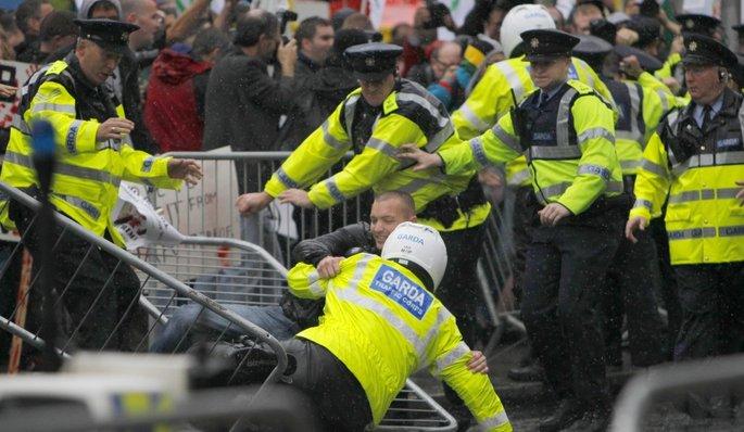 Révolte ou refus d'obéir à une autorité Dublin10