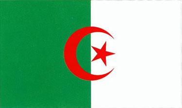 Drapeau Algérien Emblem10