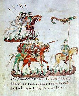 Guerres des Francs contre les Avars Karoli10