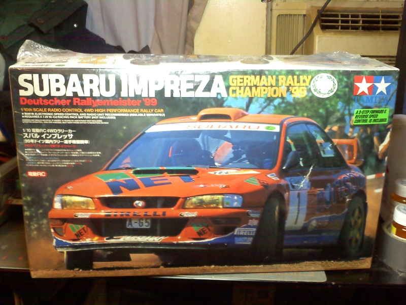 NIFSB tamiya subaru impreza german rally champion '99 No longer available 10300015