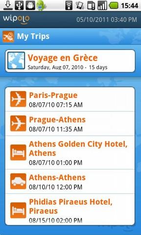 [SOFT] WIPOLO : Toutes vos informations sur vos voyages réunies en un seul soft [Gratuit]  Screen11