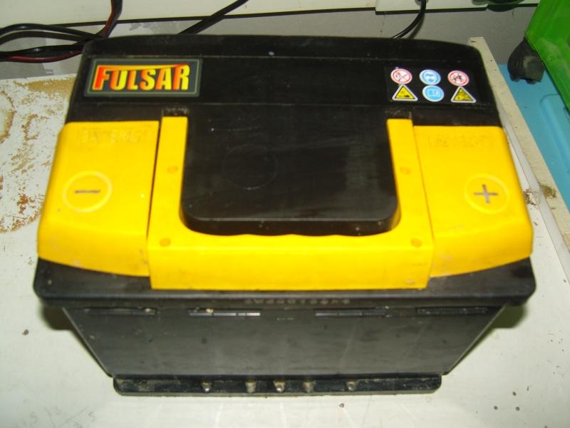 Vends batterie Fulsar 62 Ah (décharge lente)                        ((((VENDU°°))))))) Snc12711
