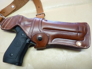 """HOLSTER d'AISSELLE """"Le TRADITIONAL"""" by SLYE P1040726"""