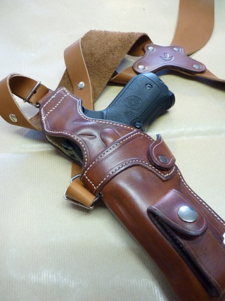"""HOLSTER d'AISSELLE """"Le TRADITIONAL"""" by SLYE P1040727"""