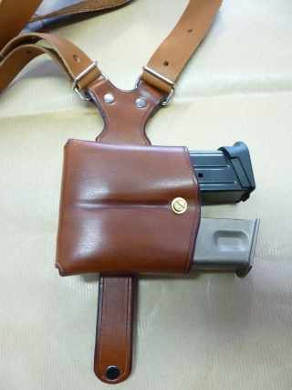 """HOLSTER d'AISSELLE """"Le TRADITIONAL"""" by SLYE P1040728"""