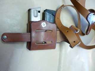"""HOLSTER d'AISSELLE """"Le TRADITIONAL"""" by SLYE P1040729"""