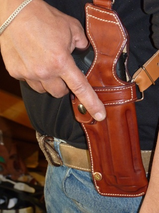 """HOLSTER d'AISSELLE """"Le TRADITIONAL"""" by SLYE P1040731"""