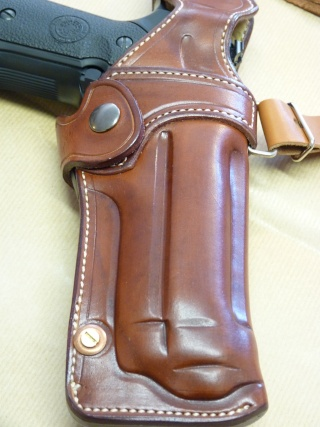 """HOLSTER d'AISSELLE """"Le TRADITIONAL"""" by SLYE P1040732"""