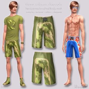 Нижнее белье, купальники, пижамы - Страница 2 Foru1242