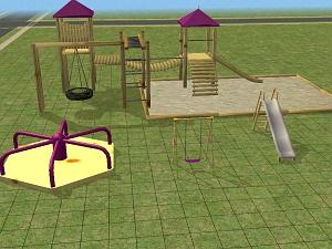 Дворовые объекты, строительный декор Forum293
