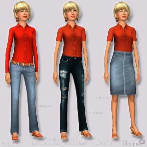 Повседневная одежда - Страница 2 Forum851
