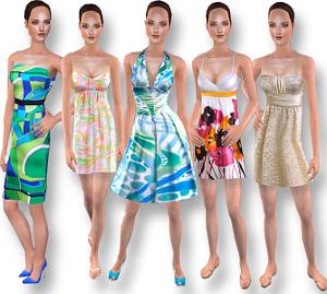 Повседневная одежда (платья, туники, комплекты с юбками) Forum903