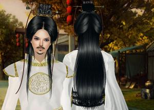 Мужские прически (длинные волосы) - Страница 3 Kr414