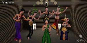Танцевальные позы, пение - Страница 2 Kr562