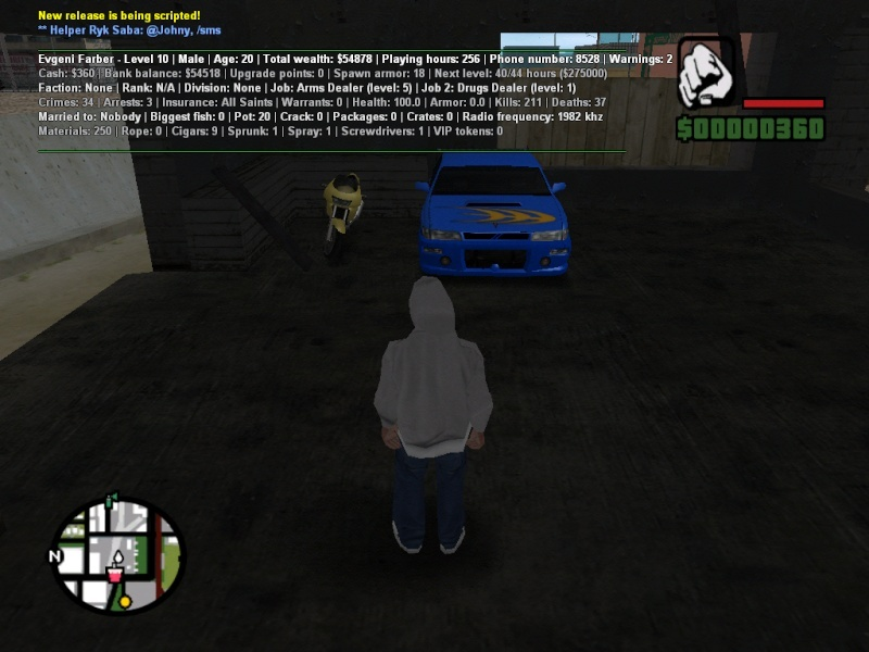 My Cars At Role Play Server My_car10