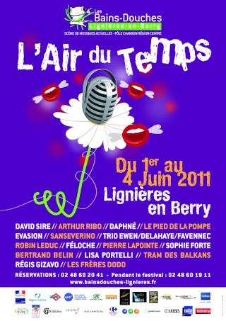 Sanseverino au festival l'Air du Temps (Lignières) Affich13