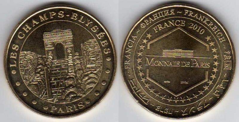 Médailles Arthus Bertrand - Cathédrale de Strasbourg Arc_de10