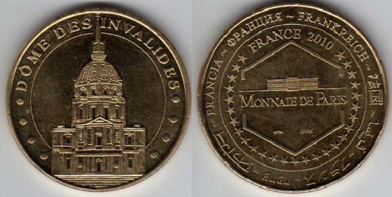 Médailles Arthus Bertrand - Cathédrale de Strasbourg Invali10