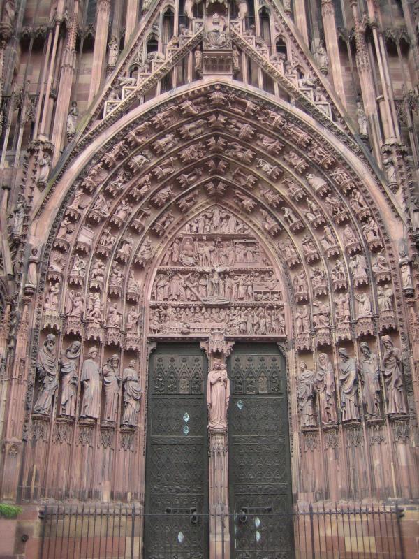 Médailles Arthus Bertrand - Cathédrale de Strasbourg Marcha10