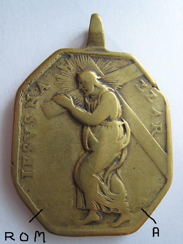 Médaille espagnole XVIIème / XVIIIème - ND-de-Bélen (Bethleem) Medail15